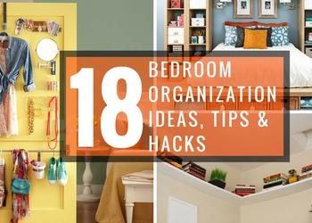 18 Bedroom Organization Ideas, Tips & Hacks- Plan N Design