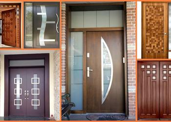 Top 100 Modern Door Designs Catalogue for Home 2018- Plan N Design