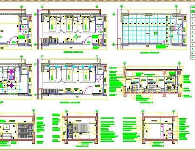 3 Bed Hospital Ward Room Autocad Dwg Plan N Design