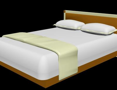 Bed Design 3d view
