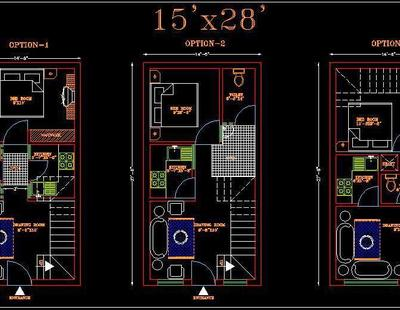 House Space Planning 15'x30' Floor Layout dwg File (3 ... on floor plans 30x45, floor plans 16x24, floor plans 10x24, floor plans 8x16, floor plans 20x50, floor plans 18x40, floor plans 16x36, floor plans 8x10, floor plans 16x16, floor plans 10x20, floor plans 18x36, floor plans 16x20, floor plans 25x25, floor plans 16x40, floor plans 12x30, floor plans 20x20, floor plans 30x50, floor plans 30x40, floor plans 24x24,