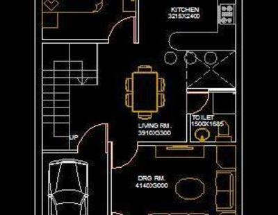 House Architectural Space Planning Floor Layout Plan 20
