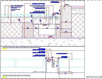 Slot Drain Construction Detail Autocad Dwg Plan N Design
