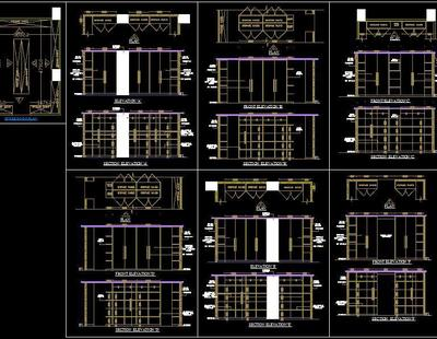 Strong Room Detail Autocad Dwg Plan N Design