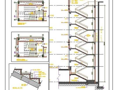 Staircase Design Cad Details