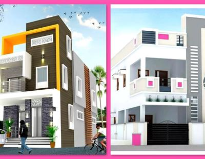 file 81rDW3pVaik maxresdefault - Download Two Floor Small House Front Design  Background