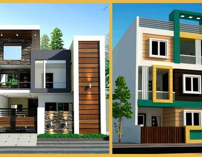 100 Most Beautiful Modern House Front Elevation Designs 3d