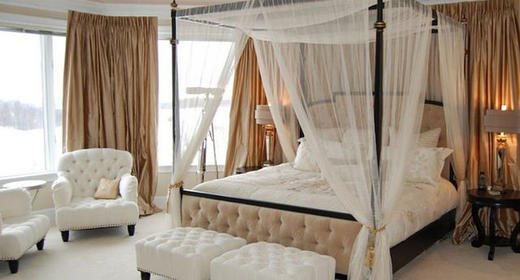 Stylish Curtain Canopy Beds to Make Your Bedroom Look Dreamy
