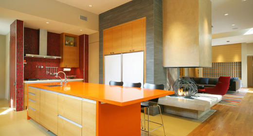 8 Easy Way to add a Pop of Color to Modern Kitchen