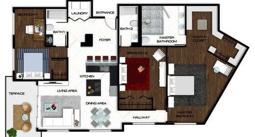 Benefits of AutoCAD Drawings in Interior Designing