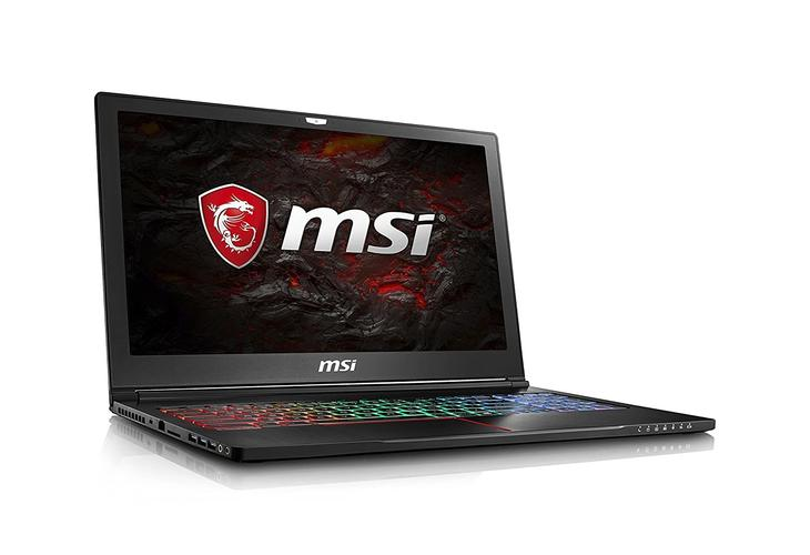 "MSI GS63VR Stealth Pro 4K-228 15.6"" 4K Display Thin and Light Gaming Laptop Core i7-7700HQ GTX 1060 16GB 512GB + 2TB VR Ready"