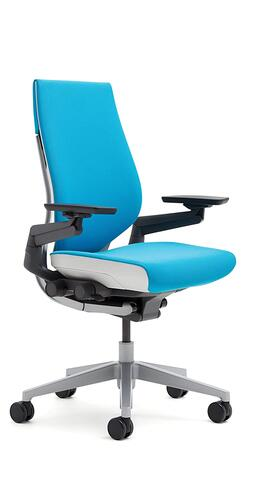 Steelcase Gesture Chair, Blue Jay - 442A40-5S21
