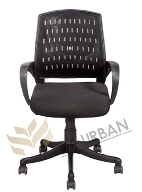 Da Urban Boom Mid Back Mesh Revolving Chair with Wheels