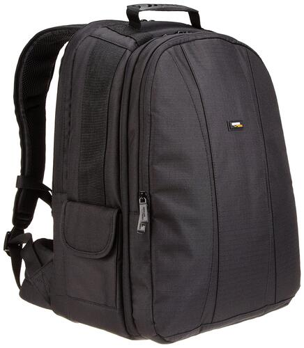 Amazon Basics DSLR and Laptop Backpack - Grey Interior