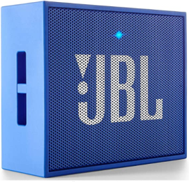 Wireless noise cancelling speaker - JBL GO Portable Wireless Bluetooth Speaker with Mic (Blue)