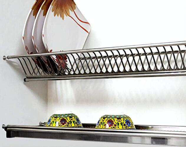 MARSUN Kitchen Dish Rack for Cabinet Width 60CM