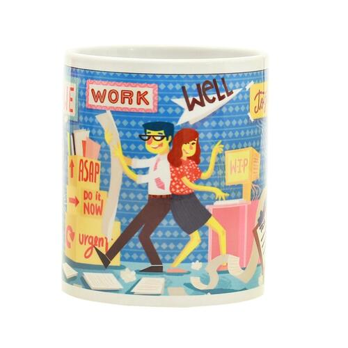 Chumbak Office Shenanigans Coffee Mug