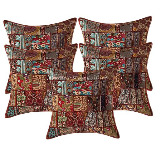 Stylo Culture Patchwork Cushion Covers
