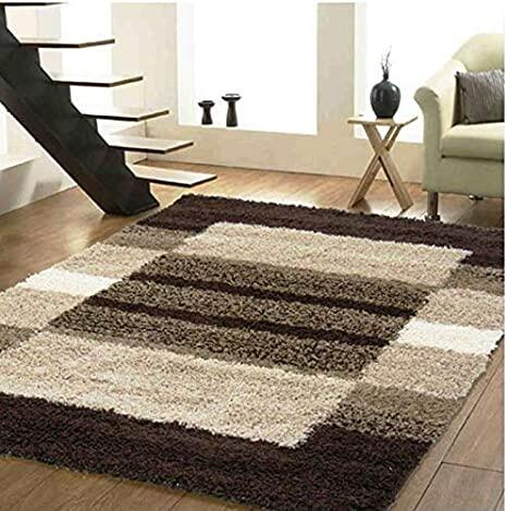 SRHandloom Stylish & Superfine Carpet Collections for Your Bedroom and Living Room (1Pice Welcome Rug Free) (4 x 6)