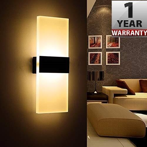 Smartway ® - 6W Rectangle Wall Led Lamp (Warm White)