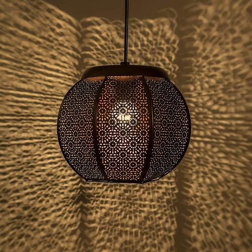 Homesake Classic Fancy Moroccan, Hanging Pendant Ceiling Decorative Chandelier Light Lamp for Home, Living Room, Bedroom, Hall, Indoor Outdoor Jhumar Lighing | Pack of 1