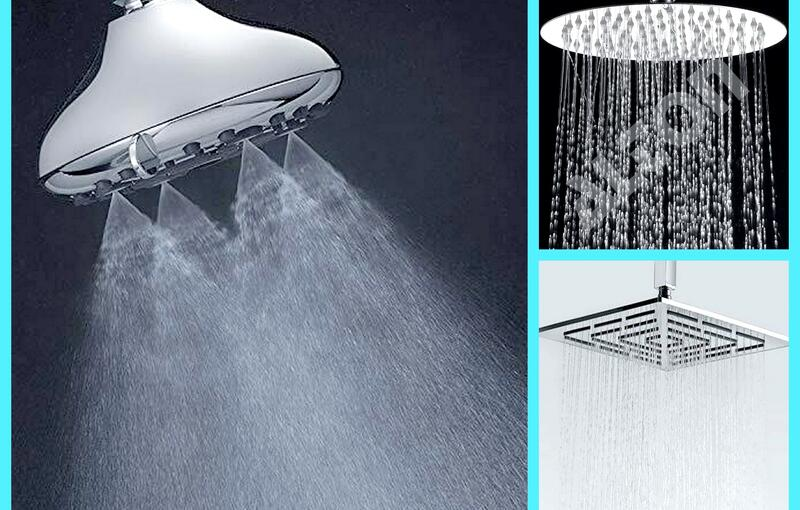 Top 10 Luxurious Shower Heads that will refresh your Shower Area