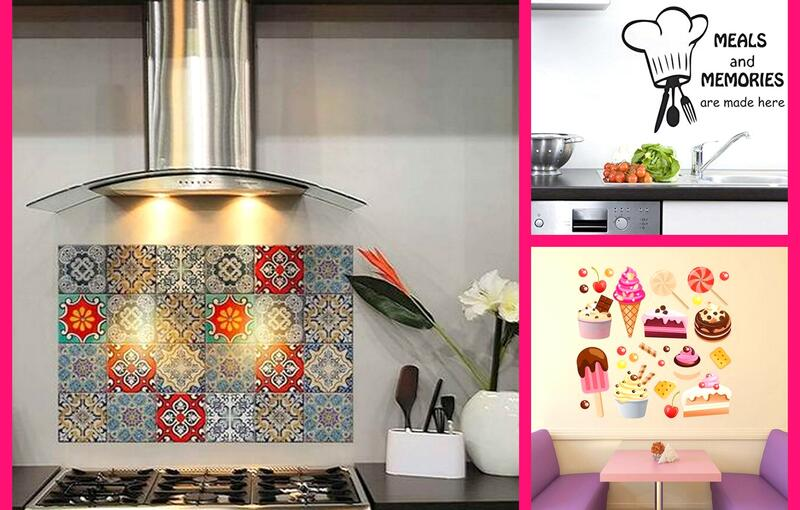 10 Sparkling Kitchen Wall Stickers That will Make you Fall in Love with Cooking